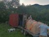 Naskladnenie krmiva, júl 2020, zúčastení Šuster Ľuboš, Kormaník Ján, Fabrici Vladimír , Richnavský Lukáš, Lovasová Júlia, Lenart Marián a priateľ poľovnictva Palko Matej