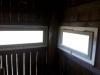 Výroba a osadenie okien na posede pri sv. Anne, august 2019