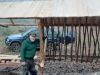 Výstavba krmelca v Bykovskej doline, august - november 2020