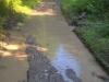 Odvodnenie cesty - II. jarek, august 2017
