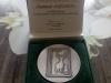 Udelenie pamätnej medaily Prezidenta SPZ Stanislavovi Majerníkovi st. za celoživotnú prácu v prospech organizovaného poľovníctva na Slovensku