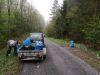 Zber odpadu v revíri, máj 2020